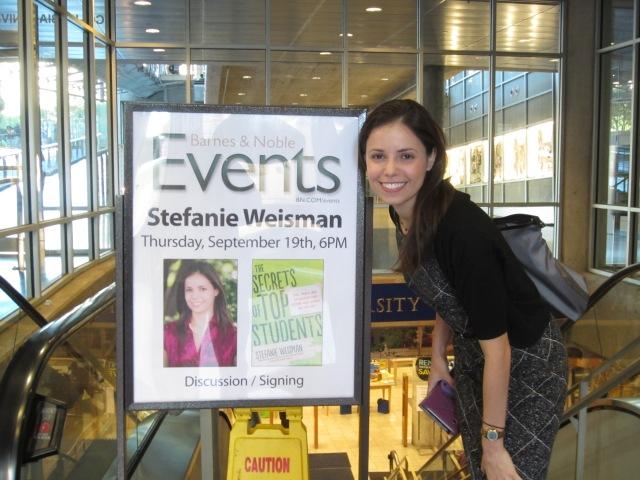 Stefanie Weisman Book Signing