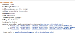 The Secrets of Top Students on Amazon